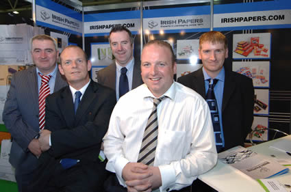irish papers team at the RDS